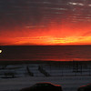 sunrise over the Atlantic Ocean Belmar NJ 